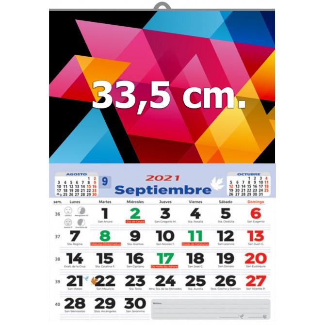 Calendario de pared 33,5 cm