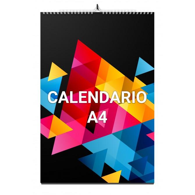 Calendario Pared A4 espiral...